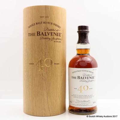 Balvenie 40 Year Old