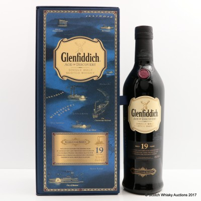 Glenfiddich Age Of Discovery 19 Year Old Bourbon Cask