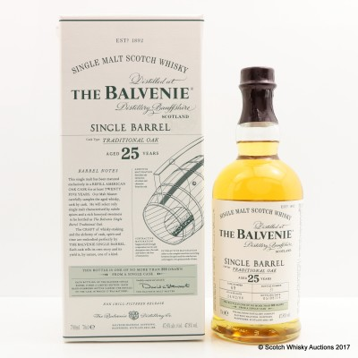 Balvenie 1988 25 Year Old Single Barrel