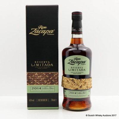 Ron Zacapa 2014 Limited Reserve