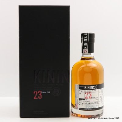 Kininvie 23 Year Old Batch #2 35cl