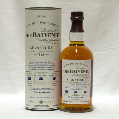 Balvenie 12 Year Old Signature Batch #4