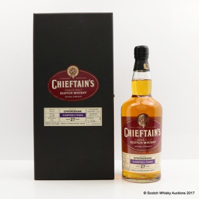 Springbank 1975 27 Year Old Chieftain's