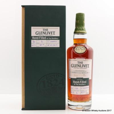 Glenlivet 24 Year Old Hand Filled Distillery Only