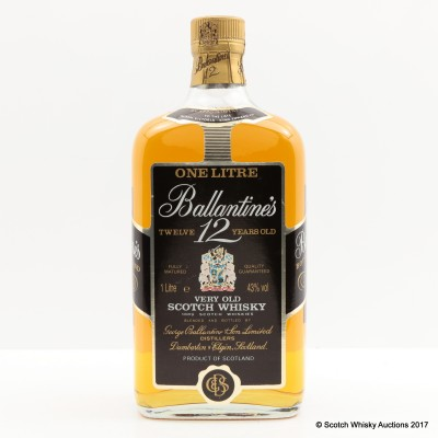 Ballantine's 12 Year Old 1L