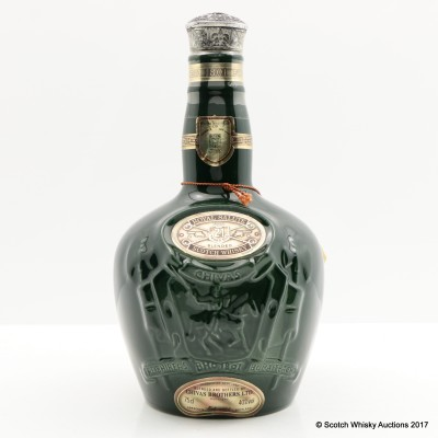 Chivas Royal Salute 21 Year Old Emerald Flagon 75cl