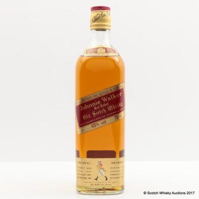 Johnnie Walker Red Label 75cl