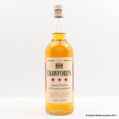 Crawford's 3 Star Special Reserve 1L