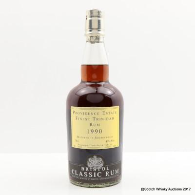 Providence Estate Trinidad 1990 Bristol Classic Rum