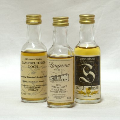 Assorted Minis x 3 5cl Campbeltown