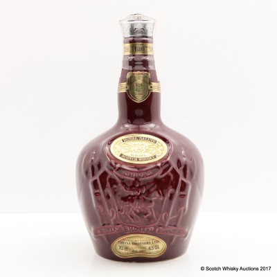 Chivas Royal Salute 21 Year Old Ruby Flagon