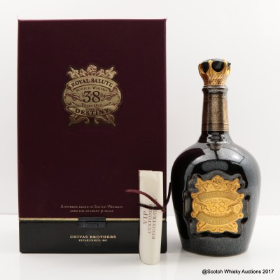 Chivas Royal Salute 38 Year Old Stone Of Destiny