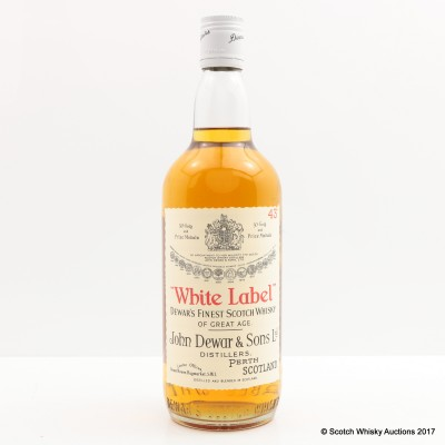 Dewar's White Label 1965 Bottling 75cl