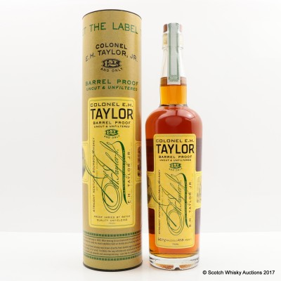 Colonel E.H Taylor Barrel Proof 75cl