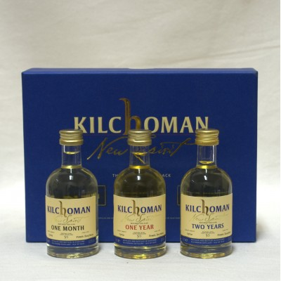 Kilchoman New Spirit Collection 3 x 5cl