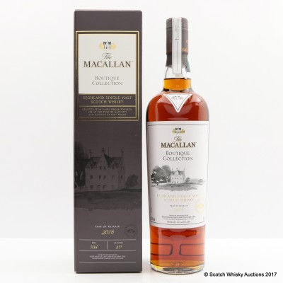 Macallan Boutique Collection 2016 Taiwan Exclusive