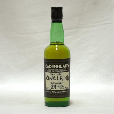 Kinclaith 24 Year Old Cadenhead's 18.75cl