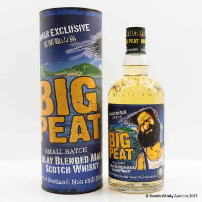 Big Peat Small Batch Taiwan Exclusive 2016 Release