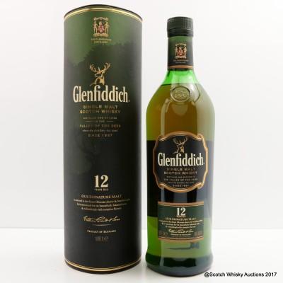 Glenfiddich 12 Year Old 1L