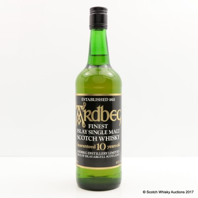 Ardbeg Guaranteed 10 Year Old
