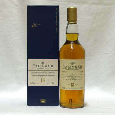 Talisker 18 Year Old In Carton