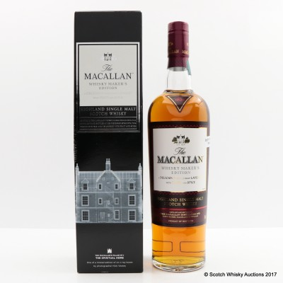Macallan Nick Veasey The Spiritual Home Whisky Maker's Edition
