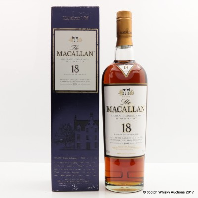 Macallan 18 Year Old 1990