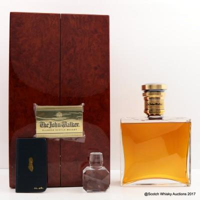 Johnnie Walker Blue Label The John Walker Baccarat Crystal Decanter 75cl