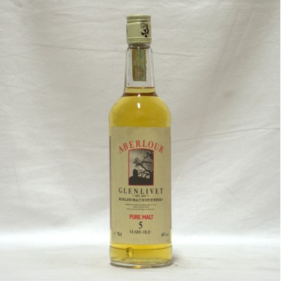 Aberlour Glenlivet 5 Year Old Pure Malt