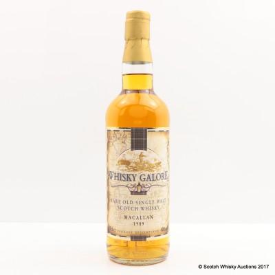 Macallan 1989 Whisky Galore