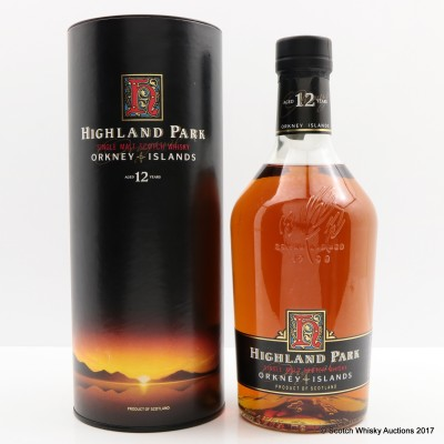 Highland Park 12 Year Old Dumpy Bottle 1L