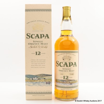 Scapa 12 Year Old 1L