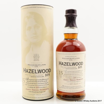 Hazelwood 15 Year Old 105°
