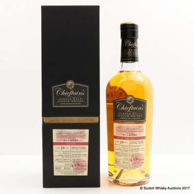 Dalmore 1995 19 Year Old Chieftain's