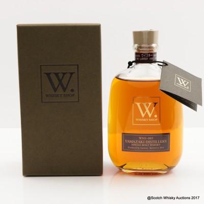 Yamazaki Single Malt Whisky Shop Bottling 30cl