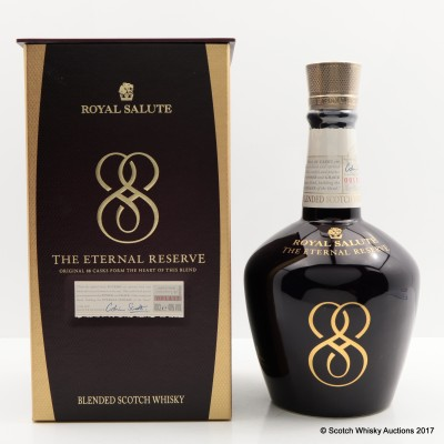 Royal Salute 21 Year Old The Eternal Reserve Decanter