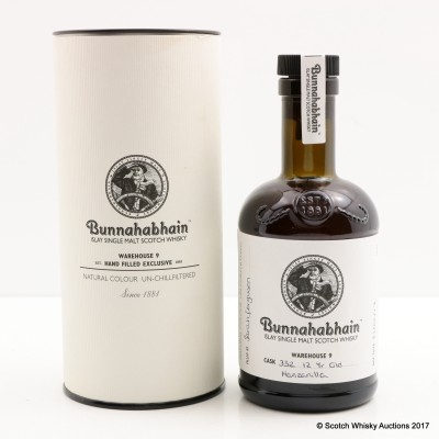 Bunnahabhain 12 Year Old Hand Filled Manzanilla Cask #332 20cl