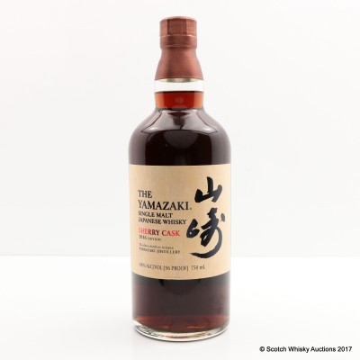 Yamazaki Sherry Cask 2016 Release 75cl