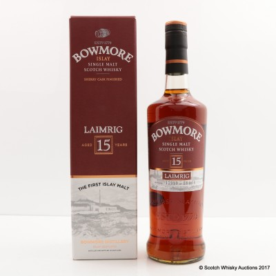 Bowmore 15 Year Old Laimrig Batch #3
