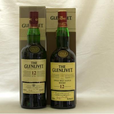Glenlivet 12 Year Old x 2