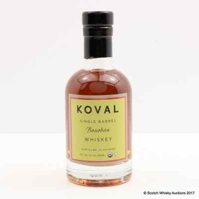 Koval Single Barrel Bourbon 20cl