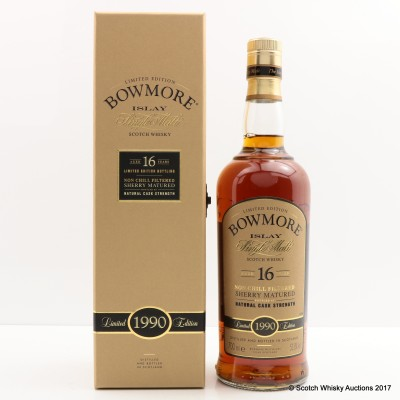 Bowmore 1990 16 Year Old Sherry Cask