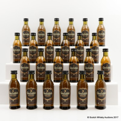 Glenfiddich 18 Year Old Minis 24 x 5cl