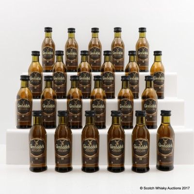 Glenfiddich 18 Year Old Minis 23 x 5cl