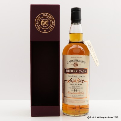 Glen Scotia 2000 16 Year Old Cadenhead's