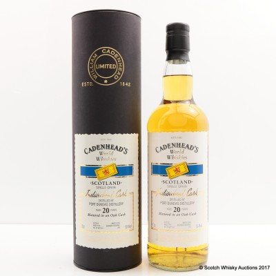 Port Dundas 20 Year Old Cadenhead's