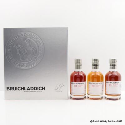 Bruichladdich Micro Provenance 3 x 20cl Set