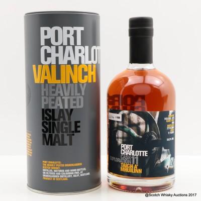 Port Charlotte Valinch 11 Cask Exploration Taigh A' Mhuilinn 50cl