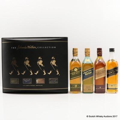 Johnnie Walker Collection 4 x 20cl
