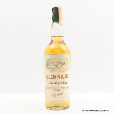 Glen Nicol Pure Malt Whisky
